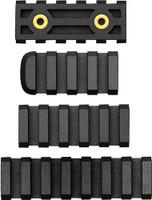 AB ARMS RAIL COMBO PACK LTF 7/5/4 SLOT RAILS BLACK