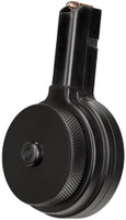 X PRODUCTS X-9 50RD DRUM 9MM AR-15 COLT PATTERN MAG BLK