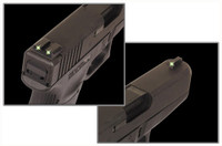 TRUGLO SIGHT SET GLOCK 9MM/.40 TRITIUM FIXED