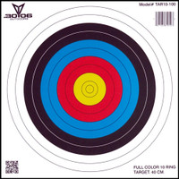 30-06 OUTDOORS PAPER TARGET ARCHERY 10-RING 17X17 100CT