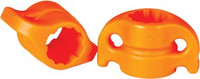 AMS BOWFISHING SAFETY SLIDE SYSTEM 5/16 ORANGE 2-PACK
