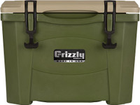 GRIZZLY COOLERS GRIZZLY G15 OD GREEN/OD GRN 15QT COOLER