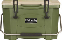 GRIZZLY COOLERS GRIZZLY G20 OD GREEN/OD GREEN 20QT COOLER