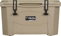 GRIZZLY COOLERS GRIZZLY G40 SANDSTONE/SANDSTONE 40QT COOLR
