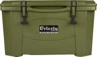 GRIZZLY COOLERS GRIZZLY G40 OD GREEN/OD GREEN 40QT COOLER