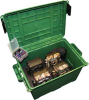 MTM GAME TRAIL CAMERA CASE W/ SD CARD HOLDER HOLDS 4 CAMERAS
