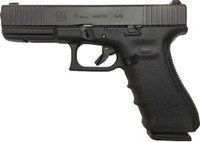 GLOCK 17 9MM GEN4 NIGHT SIGHTS 17-SHOT BLACK FRONT SERRATED