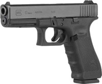 GLOCK 17 9MM GEN-4 MOS FIXED SIGHTS 17-SHOT BLACK