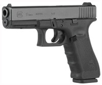 GLOCK 17 9MM GEN4 FIXED SIGHTS 17-SHOT BLACK 7593