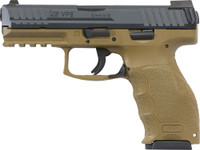 HK VP9 STRIKER FIRED 9MM 4.09 BBL 3-DOT FS 2-15RD FDE