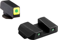 AMERIGLO CAP SIGHT SET GREEN/GREEN GLOCK 42/43