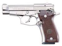 BERETTA 85FS .380ACP 3.8 FS 8-SHOT NICKEL WALNUT