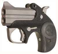 BOND ARMS BACKUP 2.5 BBL. .45ACP SS/BLK MATTE RUBBER