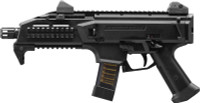 CZ SCORPION EVO 3 S1 9MM FS 1/2X28 THREADS 20-SHOT BLACK