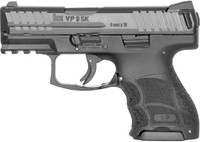 HK VP9SK STRIKER FIRED 9MM 3.39 BBL 3-DOT FS 2-10RD BLK 6381