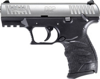 WALTHER CCP M2 9MM 3.54 FS 8-SHOT STAINLESS BLACK POLYMER 5710