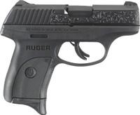 RUGER LC9s 9MM LUGER AS 7-SHOT BLUE ENGRAVED SLIDE (TALO) <