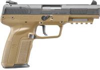 FN FIVE-SEVEN 5.7X28MM FDE 20RD ADJUSTABLE SIGHT