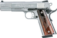S&W 1911 ES .45ACP 5 FS 8-SHOT MACHINED ENGRAVED W/CAS