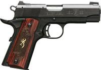 BG 1911-22 MEDALLION COMPACT .22LR 3.6 FS M.BLACK ROSEWOOD 1516