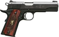 BG 1911-22 MEDALLION .22LR 4.25 FS MATTE BLACK ROSEWOOD