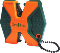 ACCUSHARP SHARP-N-EASY 2-STEP KNIFE SHARPENER CERAMIC BLAZE