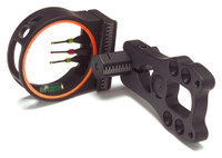 30-06 OUTDOORS BOW SIGHT KING PIN ECO 3-PIN .019 BLACK