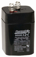AMERICAN HUNTER BATTERY RECHARGEABLE 6V 5AMP SPRINGTOP