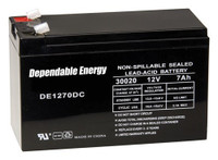 AMERICAN HUNTER BATTERY RECHARGEABLE 12V 7AMP TAB TOP