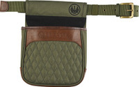 BERETTA BI SIGNATURE SHELL POUCH W/BELT CANVAS GREEN