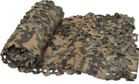 CU CAMO NETTING PREMIUM SERIES BROADLEAF 60X15' WOODLAND!
