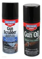 B/C GUN SCRUBBER & SYNTHETIC GUN OIL 10OZ. VALUE PACK KIT