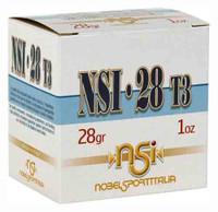 NOBELSPORT AMMO 28GA.  2.75 1205FPS. 1OZ. #4 25-PACK