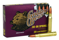 GOLDEN BEAR .30-06 SPRINGFIELD 168GR. SOFT-POINT 20-PACK