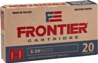 FRONTIER AMMO 5.56 NATO 75GR. BTHP MATCH  20-PACK