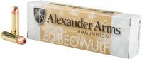 ALEXANDER AMMO .50 BEOWULF 350GR. XTP JHP 20-PACK