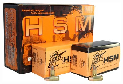 HSM AMMO DOUBLE DUTY 9MM LUGER 115GR  COMBO