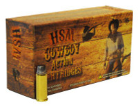HSM COWBOY AMMO .44-40 WIN. 200GR. RNFP-HARD 50-PACK