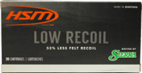 HSM AMMO .30-06 150GR. SBT LOW RECOIL 20-PACK