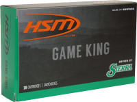 HSM AMMO .25-06 REM 117GR. SBT SIERRA GAME KING 20-PACK