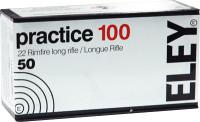 ELEY PRACTICE 100 .22LR 40GR EPS BULLET 50 PK