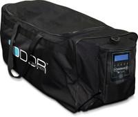 ODOR CRUSHER TACTICAL ROLLER GEAR BAG W/ OZONE GENERATOR