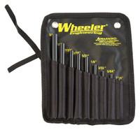 WHEELER 9-PC ROLL PIN STARTER SET W/STORAGE POUCH