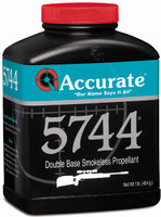 ACCURATE 5744 POWDER 1LB CANNISTER