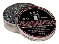 BENJAMIN 5MM/.20 CAL. PELLETS 14.3 GRAIN CYLINDER 500-PACK