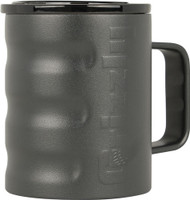 GRIZZLY COOLERS GRIZZLY GEAR CAMP CUP 11OZ CHARCOAL W/HNDLE