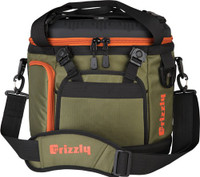 GRIZZLY COOLERS DRIFTER 20 EVA MOLDED COOLER OD GREEN/ORG