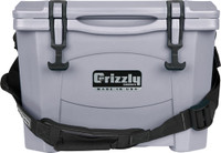 GRIZZLY COOLERS GRIZZLY G15 GUNMETAL GRAY 15 QUART COOLER