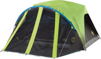 COLEMAN CARLSBAD DOME TENT W/ SCREEN ROOM 4 PERSON 9'X7'X4'