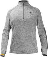LEUPOLD 1/2 ZIP PULLOVER COVERT GRAY HEATHER LARGE<